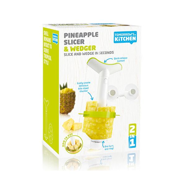 Tomorrow's Kitchen Pineapple Slicer Set Of 3 & Wedger