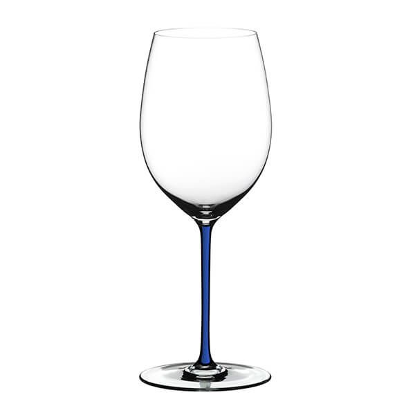 Riedel Hand Made Fatto A Mano Cabernet/Merlot Glass Dark Blue