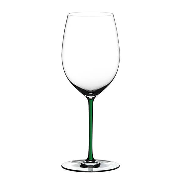 Riedel Hand Made Fatto A Mano Cabernet/Merlot Glass Green