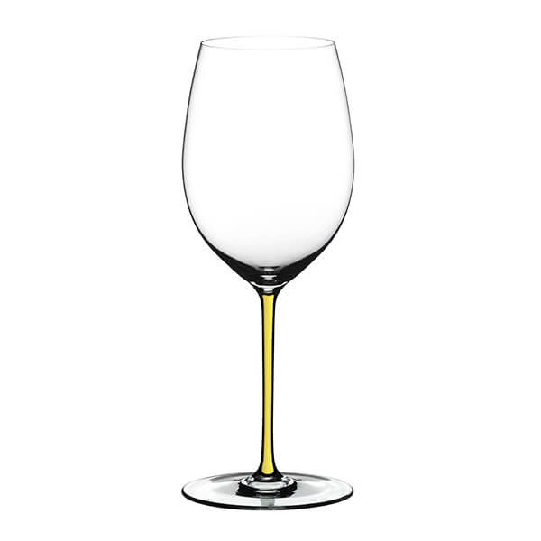 Riedel Hand Made Fatto A Mano Cabernet/Merlot Glass Yellow