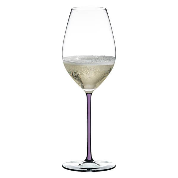 Riedel Hand Made Fatto a Mano Champagne Wine Glass Violet