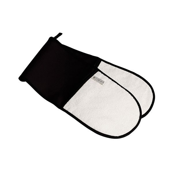 Le Creuset Black Double Oven Glove