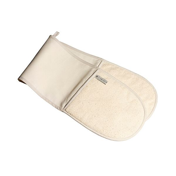 Le Creuset Almond Double Oven Glove