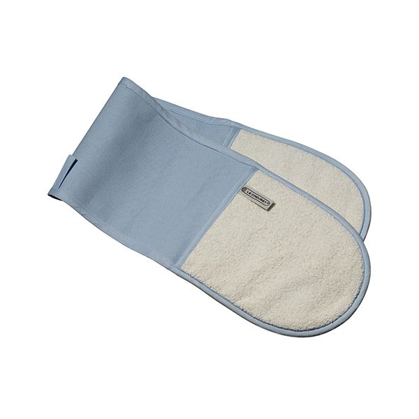Le Creuset Coastal Blue Double Oven Glove