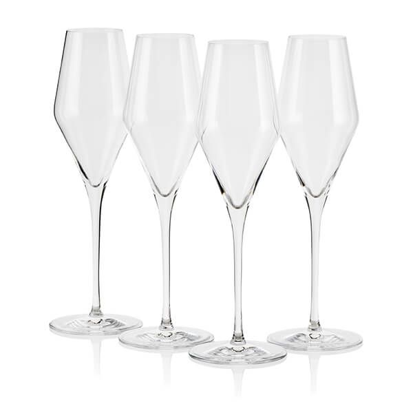 Le Creuset Sparkling Wine Flutes Set of 4