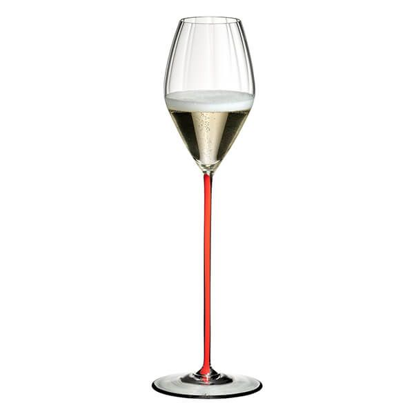 Riedel High Performance Champagne Glass Red