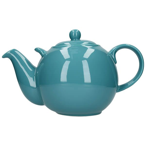 London Pottery Globe 10 Cup Teapot Aqua