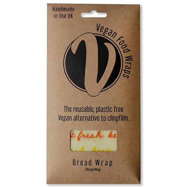 The Vegan Food Wraps Co. Vegan Wax Bread Wrap