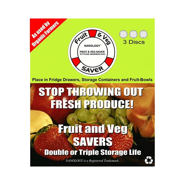 Eddingtons Fruit and Vegetable Saver Pack Of 3