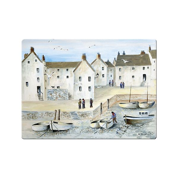 Creative Tops Cornish Harbour Glass Work Surface Protector