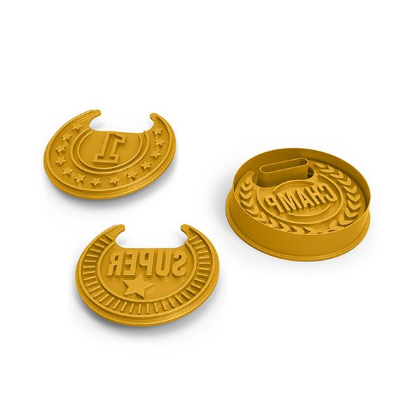 Fred Top Cookie Medal Cookie Stamp Set
