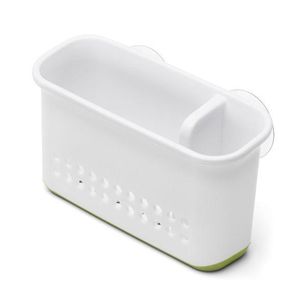 Addis Sink Side Organiser White / Green