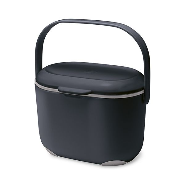 Addis Compost Caddy Black / Grey
