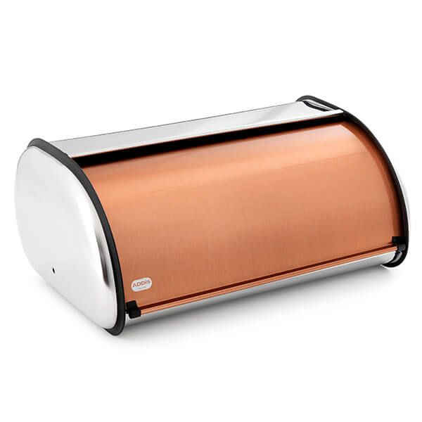 Addis Copper Bread Bin