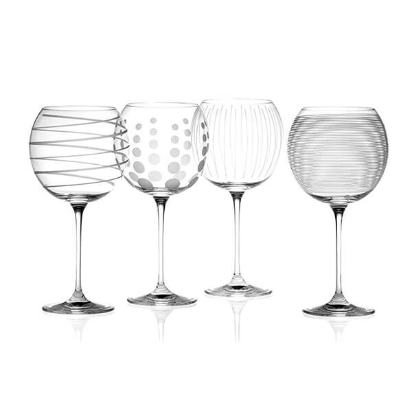 Mikasa Cheers Set Of 4 Balloon Glasses