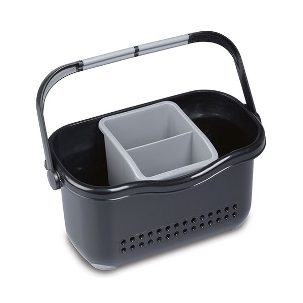 Addis Sink Caddy Black / Grey