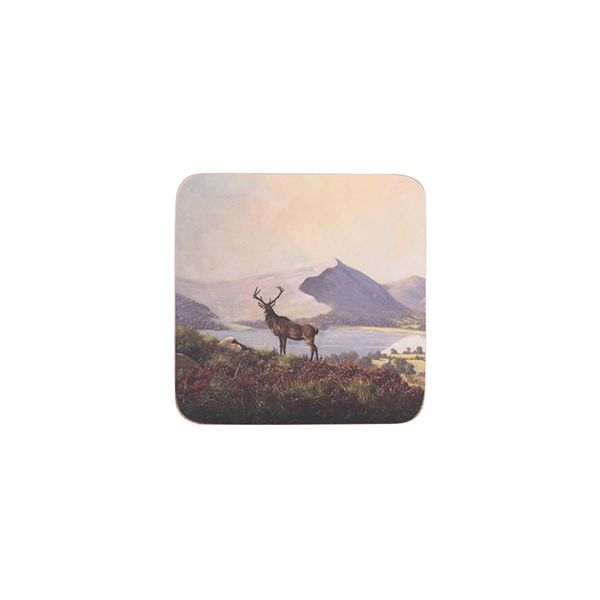 Creative Tops Highland Stag Set Of 6 Premium Coasters