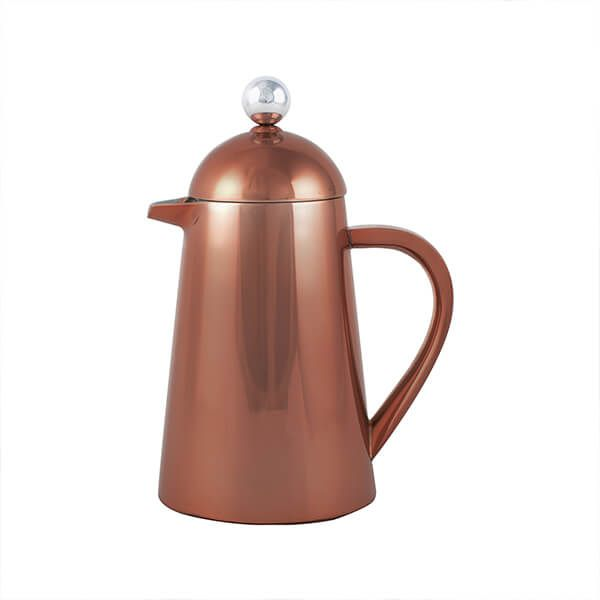 La Cafetiere Thermique Copper Double Walled 3 Cup Cafetiere