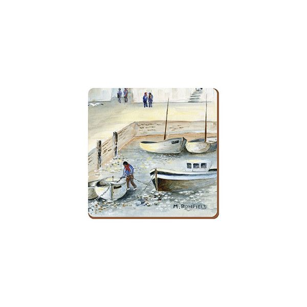 Creative Tops Cornish Harbour Set Of 6 Premium Coasters