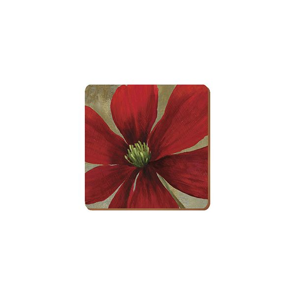 Creative Tops Flower Study Set Of 6 Premium Coasters