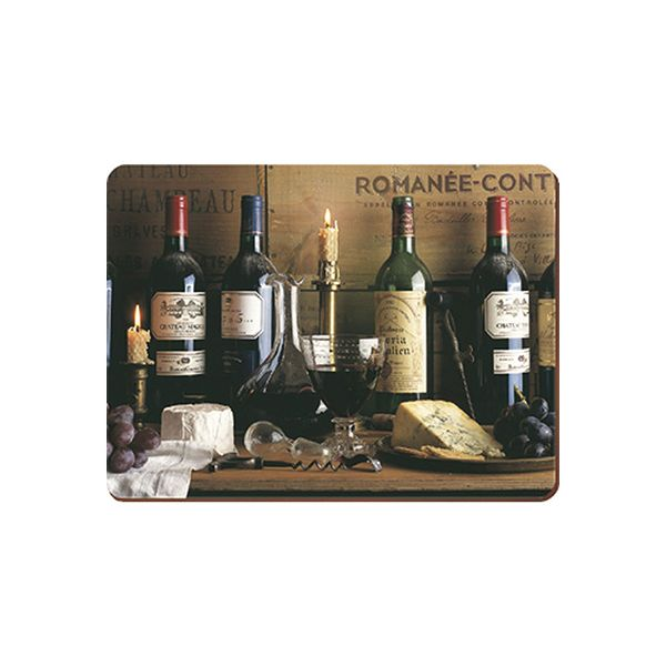 Creative Tops Vintage Wine Set Of 6 Premium Table Mats