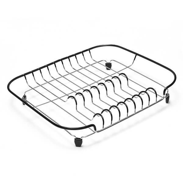 Addis Black & Stainless Steel Compact Draining Rack