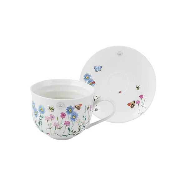 Royal Botanic Gardens Kew Meadow Bugs Cup And Saucer