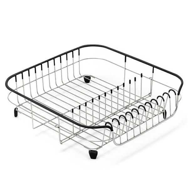 Addis Black & Stainless Steel Draining Rack