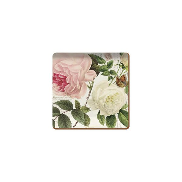 Creative Tops Rose Garden Set Of 6 Premium Coasters