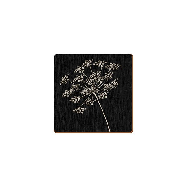 Creative Tops Silhouette Set Of 6 Premium Coasters