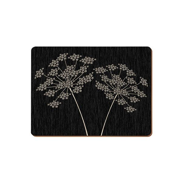 Creative Tops Silhouette Set Of 6 Premium Table Mats