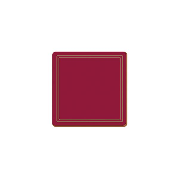 Creative Tops Classic Red Set Of 6 Premium Coasters