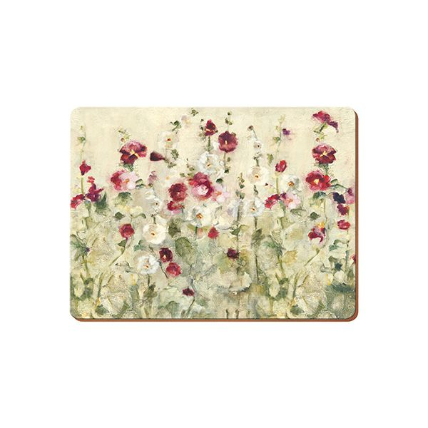 Creative Tops Wild Field Poppies Set Of 6 Premium Table Mats