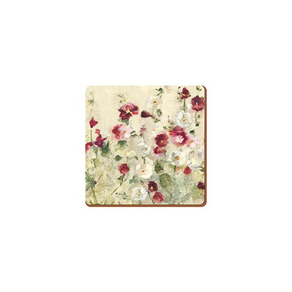 Creative Tops Wild Field Poppies Set Of 6 Premium Coasters