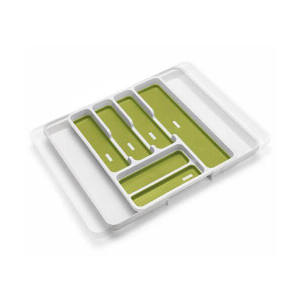 Addis Extendable Drawer Organiser White / Green