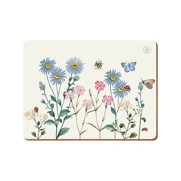 Royal Botanic Gardens Kew Meadow Bugs Pack Of 6 Place Mats