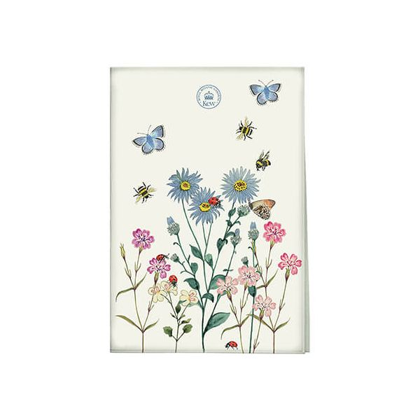 Royal Botanic Gardens Kew Meadow Bugs Tea Towel