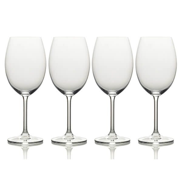 Mikasa Julie Set Of 4 25oz Red Wine Glasses