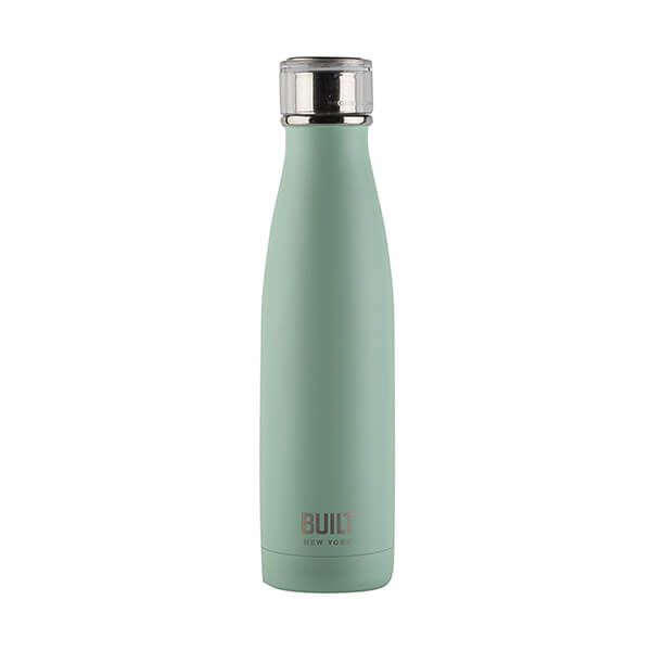 Built 483ml Double Walled Stainless Steel Water Bottle Mint