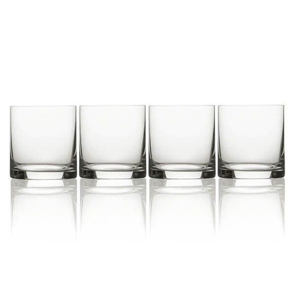 Mikasa Julie Set Of 4 15oz Double Old Fashioned Drinking Glasses
