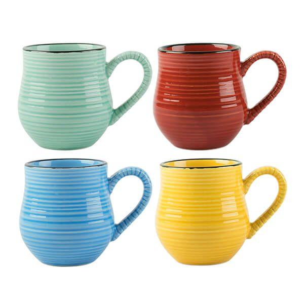 La Cafetiere Core Brights 150ml Espresso Mugs Set of 4