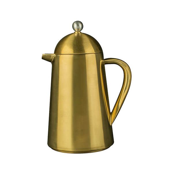 La Cafetiere Edited Thermique Double Walled 3 Cup Cafetiere Brushed Gold