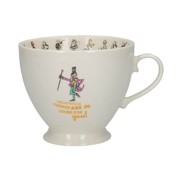 Roald Dahl Charlie & The Chocolate Factory Footed Mug