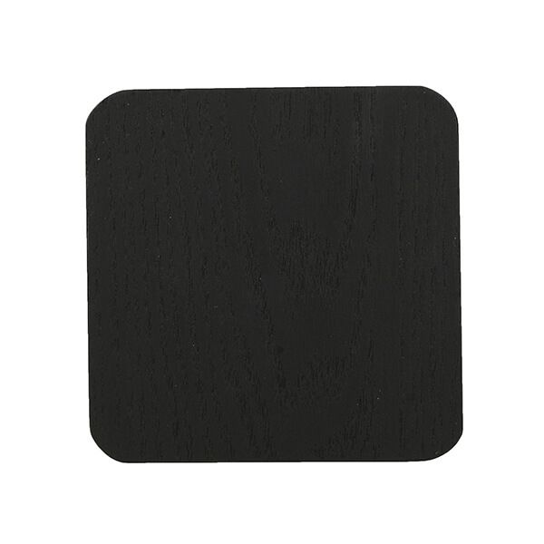 Creative Tops Naturals Pack Of 4 Wooden Coasters Black