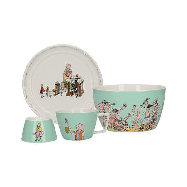 Roald Dahl BFG 4 Piece Breakfast Stacking Set