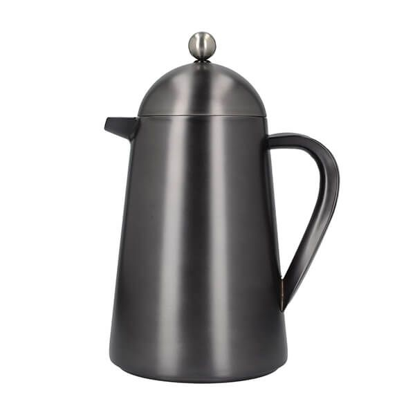 La Cafetiere Edited Double Walled 8 Cup Thermique Gun Metal Grey