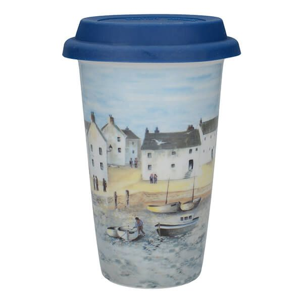 Creative Tops Cornish Harbour Travel Mug
