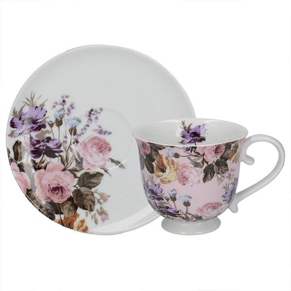 Katie Alice Wild Apricity Tea Cup And Saucer
