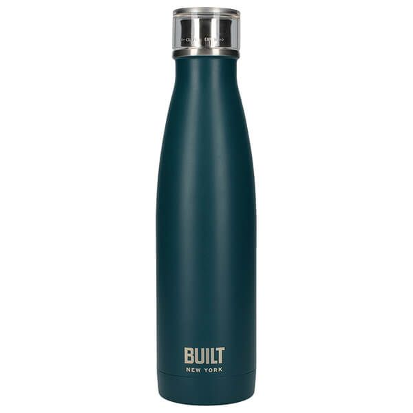 Built 500ml Double Walled Stainless Steel Water Bottle Teal