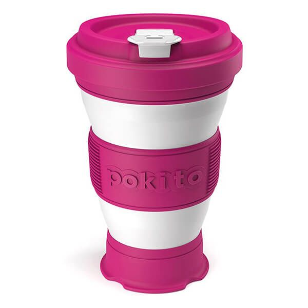 Pokito Rasberry Pop Up Cup
